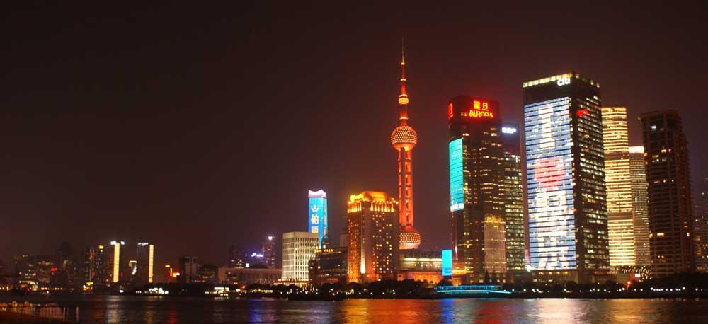 Op werkbezoek naar Shanghai